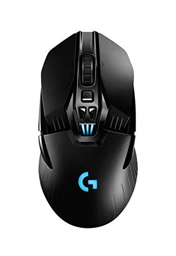 Mouse Gamer Sem Fio Logitech G903 LIGHTSPEED com RGB LIGHTSYNC, Design Ambidestro Personalizável, Sensor HERO 16K, Compatível com POWERPLAY