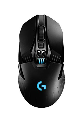 Mouse Gamer Sem Fio Logitech G903 LIGHTSPEED com RGB LIGHTSYNC, Design Ambidestro Personalizável, Sensor HERO 16K, Compatível com POWERPLAY