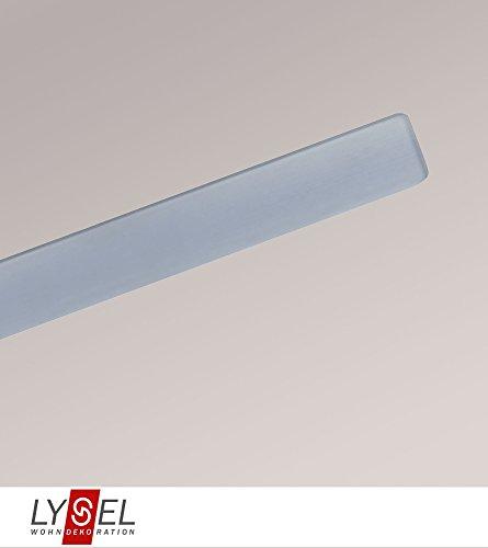 LYSEL® Beschwerungsprofil VIORA Breite: 2.30cm Höhe: 0.30cm Länge: 60cm