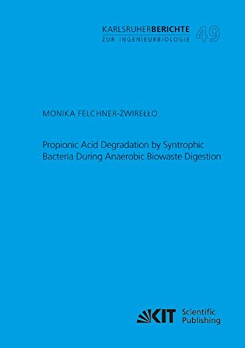 Propionic Acid Degradation by Syntrophic Bacteria During Anaerobic Biowaste Digestion (Karlsruher Berichte zur Ingenieurbiologie / Institut für ... Karlsruher Institut für Technologie)