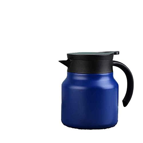 Tetera de acero inoxidable 316 tetera de 800 ml blister tetera de café portátil tetera de té taza de negocios gift-blue_800ml