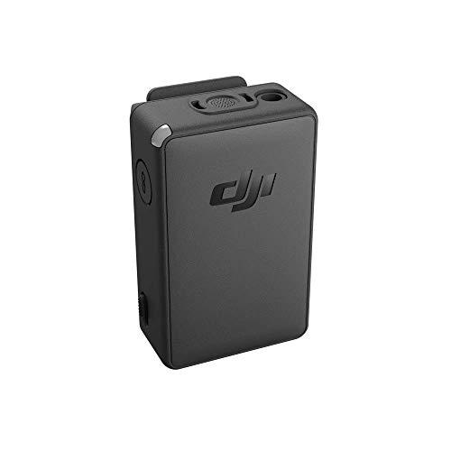 DJI Pocket 2 Funkmikrofon-Sender - Drahtlose Tonübertragung, Tragbar, Benutz den DJI Funkmikrofon-Windschutz, um Windgeräusche zu vermeiden, Lange Akkulaufzeit von bis zu sechs Stunden