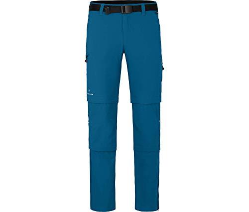 Bergson Herren Doppel Zipp-Off Hose Queensland mit T-Zipp, Blue Sapphire [307], 106 - Herren