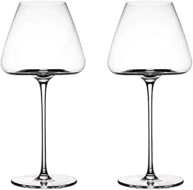 Reliable Red Wine Glasses Set of Large Wine Glasses Clear Wine Cup Ultra Elegant Design Ideal for Special Occasions Home Bar