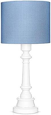 LAMPS & COMPANY 5902360488755 Lampe sur pied, PVC, Coton, Bois, Marine