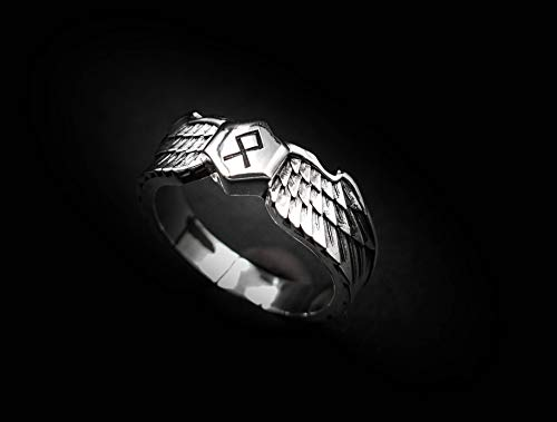 Siegfried and Fafnir Ring Viking Ring Scandinavian Norse Viking Jewelry with 925 Sterling Silver
