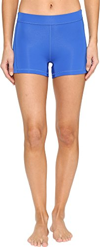 adidas Women's Training Techfit Short Tights, Blue/Silver, X-Small