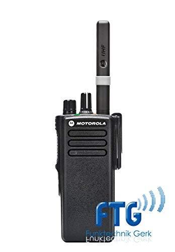 Motorola DP4400e HFG VHF 136-174 MHz Appareil avec Batterie Intrinsic Safety UL-TIA4950 Standard avec Batterie Liion et Programmation d'antenne