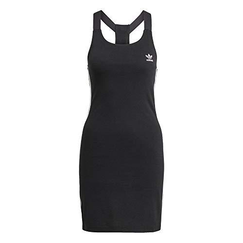 adidas Damen Racer B Dress T Shirt, Schwarz, 36 EU