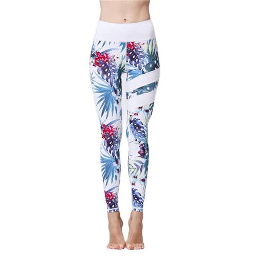 QTJY Pantalones de Yoga para Nalgas de Cintura Alta para Mujer, Push-ups, Pantalones de chándal para Gimnasio elásticos para Abdomen B L