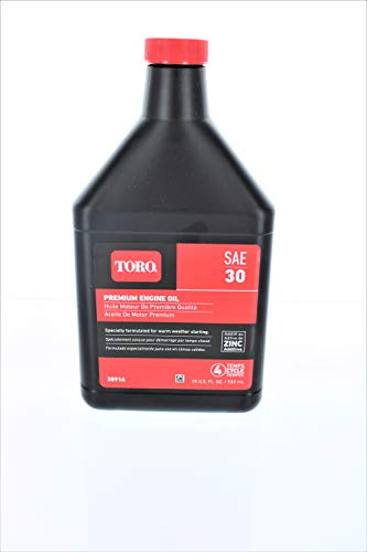 Toro 38916 SAE 30 Oil 18 Oz Bottle