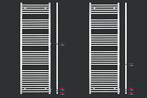 Renovierungsheizkörper Austausch Badheizkörper Heizkörper Seitenanschluss (600mm * 1600mm- Anschluss 500/540 mm)