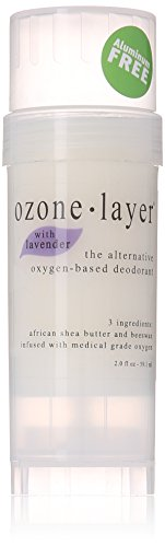 Ozone Layer Deodorant with Lavender Essential Oil - The All Natural Oxygen Based Deodorant by Ozone Layer Deodorant LLC