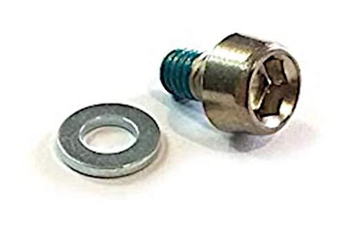 SHIMANO AltusFD-M2000 - Tornillo de Ajuste de Cable (12 mm, 2 Unidades), Color Plateado