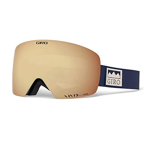 Giro Contour Masque de ski Bleu/rouge Taille unique Couleur Midnight Alps Vivid Copper