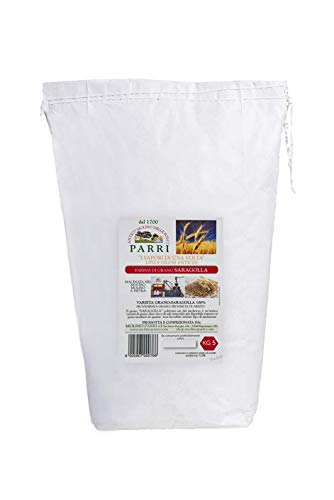 Farina di grano antico Saragolla confezione da 5kg