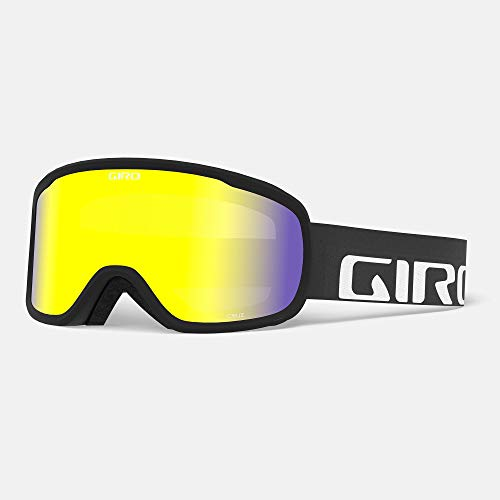 Giro Snow Cruz Masque de Ski pour Homme Noir Wordmark Yellow Boost Taille Unique