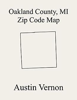 white lake mi map Oakland County Michigan Zip Code Map Includes Springfield white lake mi map