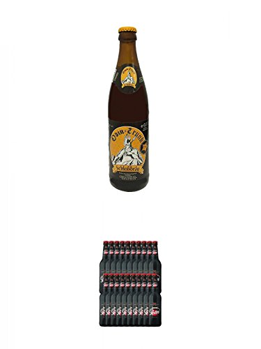 Odin Trunk Honigbier 0,5 Liter Deutschland + Lausitzer Porter Schwarzbier 20 x 0,5 Liter Deutschland