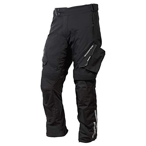 Scorpion EXO Yosemite Men's Textile Adventure Touring Motorcycle Pants (Black, X-Large)