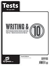 Writing Grammar 10 Test Pack