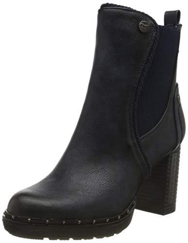 MUSTANG Damen 1336-501-820 Chelsea Boots, Blau (Navy 820), 37 EU