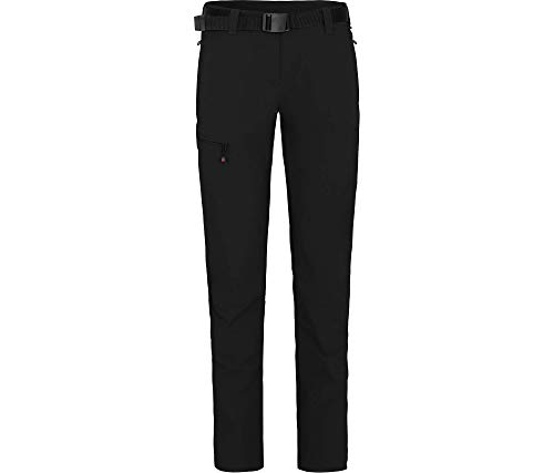 Bergson Damen Funktionshose MENA (Slim fit), Black [900], 38 - Damen