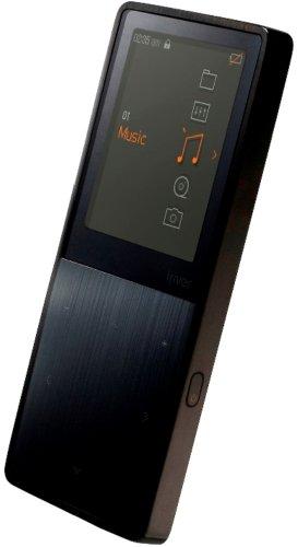 iriver 高音質スマートオーディオプレーヤー E50 METAL 8GB スティールブラック 52時間再生 FM予約録音 再生速度調整可能 E50-8GB-BlueBlack