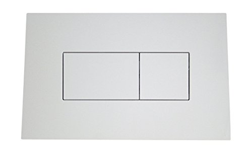 Sanitop-Wingenroth Betätigungsplatte für Vorwandelement, weiß, Revisionsplatte 30320 0