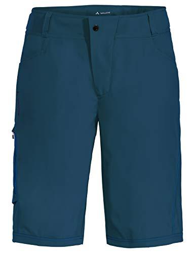 VAUDE Herren Hose Ledro Shorts für den Radsport elastisch, baltic sea, 52, 414403345400