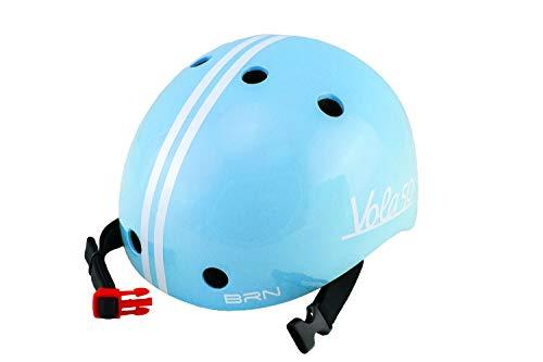 Vola 50 BRN, Kleinkinder fahrradhelm, Farbe blau, Licht 170 gr, XXS 44-48cm