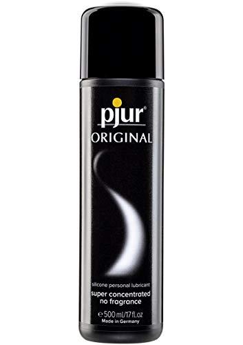 pjur ORIGINAL - Premium Silikon-Gleitgel - lange Gleitfähigkeit ohne zu kleben - sehr ergiebig und für Kondome geeignet - 1er Pack (1x 500 ml)