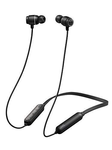 JVCHA-XC30BT-BBluetoothイヤホンXXシリーズ/重低音/防水・防塵・耐衝撃/ネックバンド/15時間連続再生ブラック