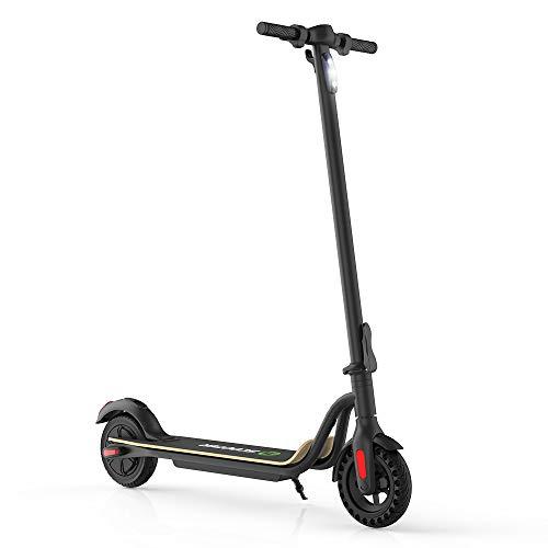 Mtricscoto Patinete electrico Plegable, Scooter eléctrico con 3 velocidades, Rango de 22 km para Adultos, adolecentes, Carga máxima de 120 kg con neumáticos de 8 ''