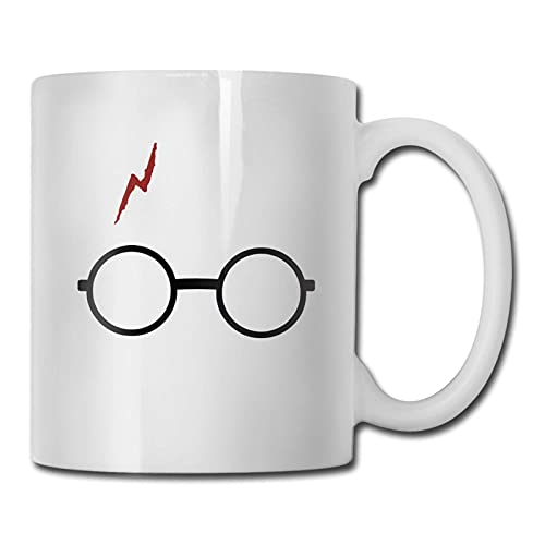 Taza de vasos de mago, taza de café para bebidas calientes, taza de gres, taza de café de cerámica, taza de té de 11 onzas, divertida taza de regalo para té y café