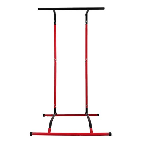 Happybuy Portable Pull Up Dip Station Power Tower Gym Bar Stretch Workout Multi Function