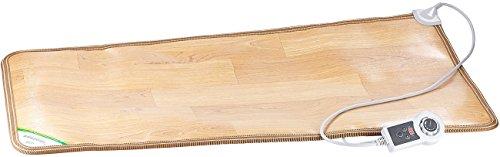 infactory Elektrische Fußmatte: Beheizbare Infrarot-Fußboden-Matte, 105 x 55 cm, bis 60 °C, 150 Watt (Heizbare Fußmatte)