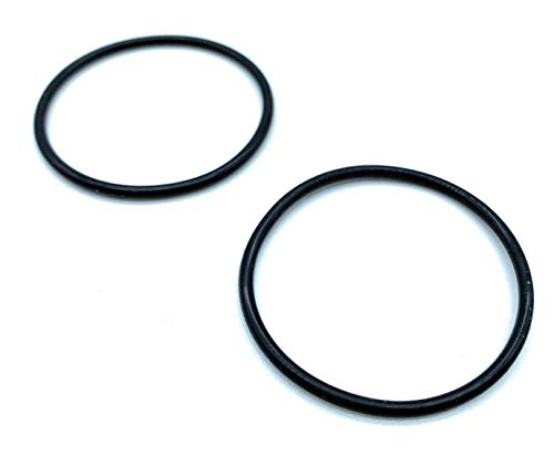 JAM2DAY 2 Replacement Rubber O Rings For Metal Sink, Basin and Bath Plugs (1 3/4' / 45mm)