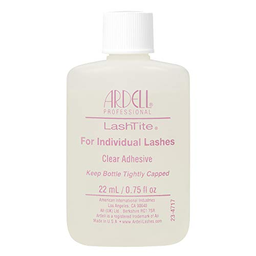 Ardell LashTite Lash Adhesive Clear for Individual Lashes, 0.75 oz