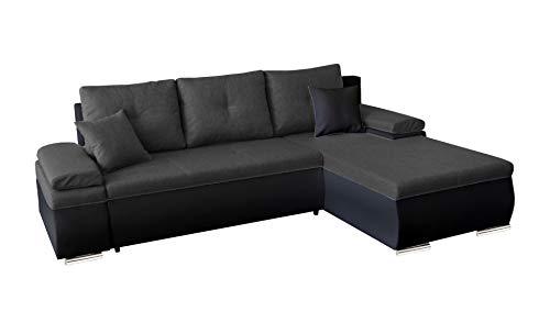 Primelife4You Polstergarnitur Carat Ecksofa mit Schlaffunktion und Bettkasten. EIN Premium-Multifunktionales Sofa und Moderne Schlafcouch/Bettsofa in...