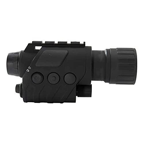 Adesign Visión Nocturna Gafas/monoculares, cámara Digital infrarroja, grabación de Video para Caza al Aire Libre, Camping, observación de Aves y vigilancia