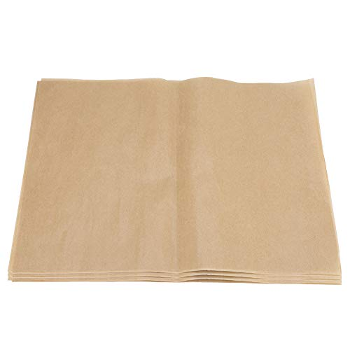 Butcher Paper - 200Pcs Antihaft-Hitzebeständiges Grillpapier Quadratisches Grillfolienpapier Backbleche für den Grill