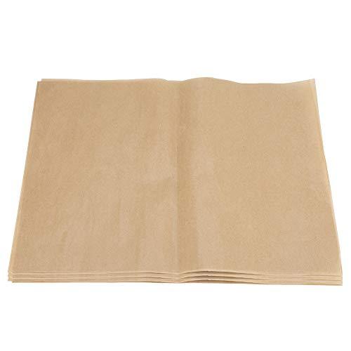 Papel de carnicero - 200 piezas de papel de barbacoa resistente al calor antiadherente Papel de aluminio cuadrado para barbacoa Hojas para hornear para parrilla