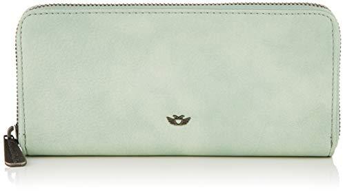Fritzi aus Preussen Nicole - Portafogli Donna, Verde (Soft Mint), 2.5x19.5x9.5 cm (W x H L)