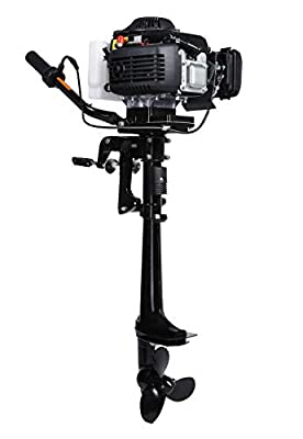4hp Small Marine Side Mount Outboard Boat Engine for Small Fishing Boat [Leadallway] detail review