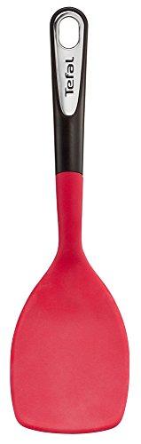 Tefal K20645 Ingenio Pfannenwender, Kunststoff, Rot/Schwarz