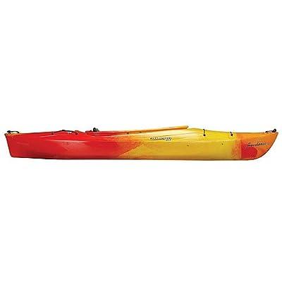 93387334 Perception Sport Conduit 9.5 Kayak (Red/Yellow) from Perception Sport