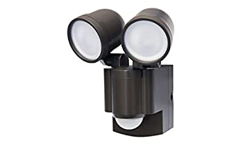 LB-1403BZ Battery Operated Motion Security Twin Head LED Light  Also Available in White