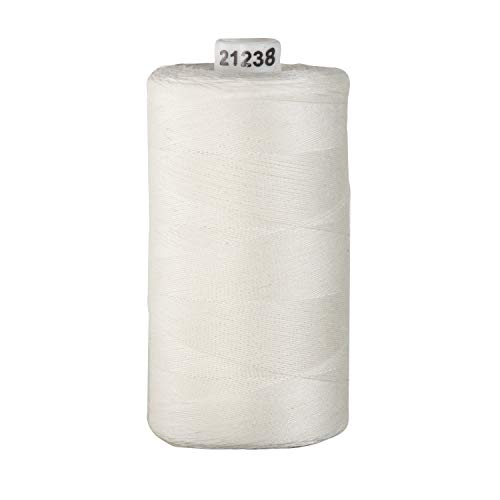 Connecting Threads 100% Cotton Thread - 1200 Yard Spool (Ivory)