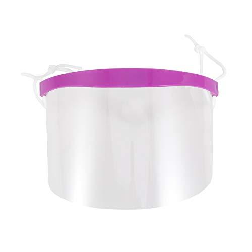 EXCEART 50 Piezas de Protectores faciales Desechables, Protector Antiarrugas contra Salpicaduras, Visor de plástico Transparente, protección para los Ojos para la Cocina de Oficina al Aire Lib